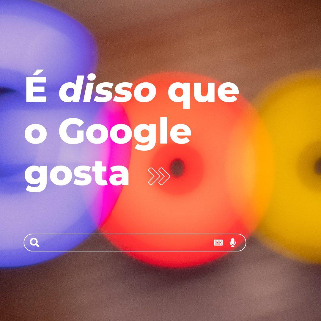 #PraCegoVer: a sequência de duas imagens mostra o logotipo do Google, que possui uma cor diferente para cada letra, desfocado. Na primeira foto, está escrito: